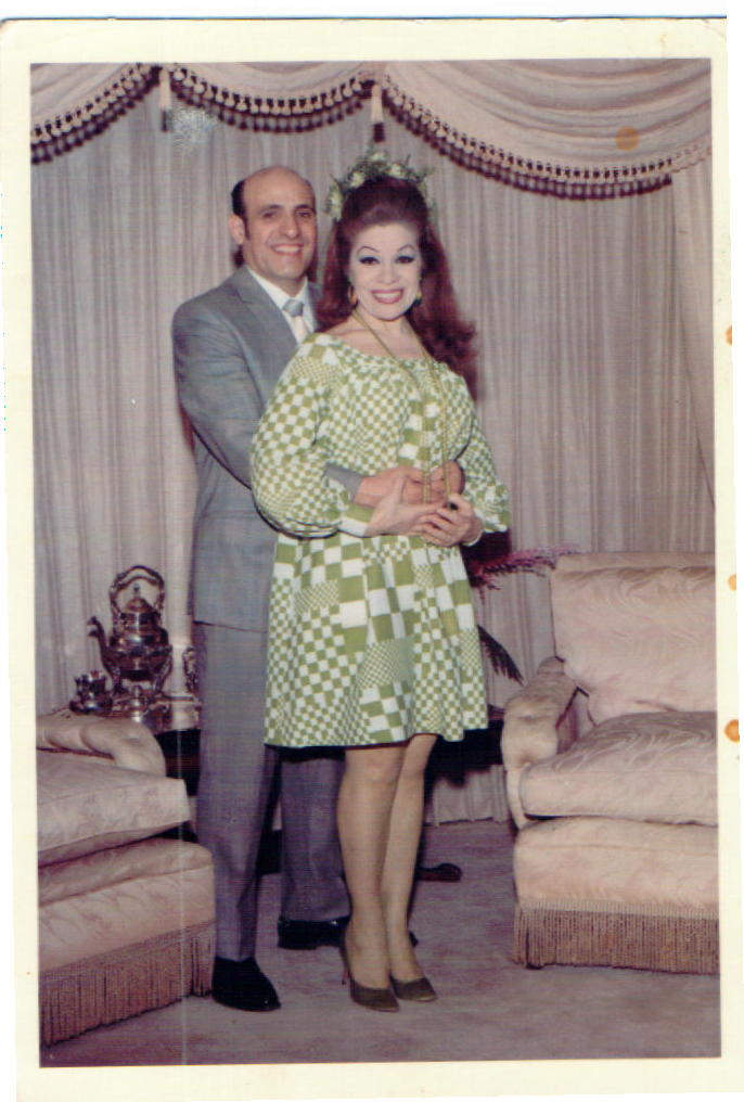 Here we are about to celebrate our 25th Wedding Anniversary in 1969